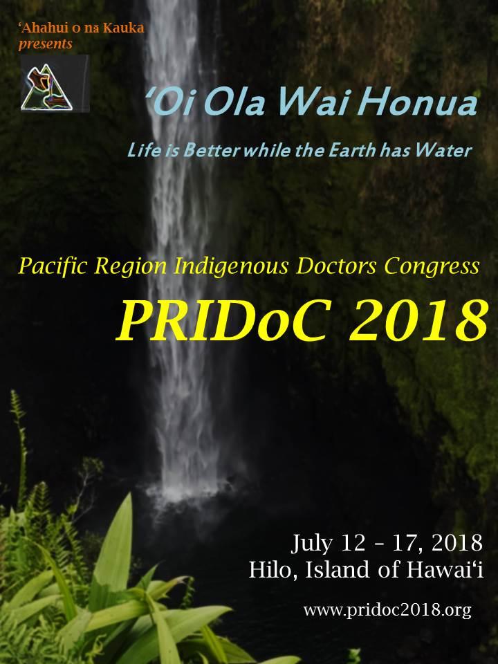 'Ahahui 'o nā Kauka hosts PRIDoC 2018!