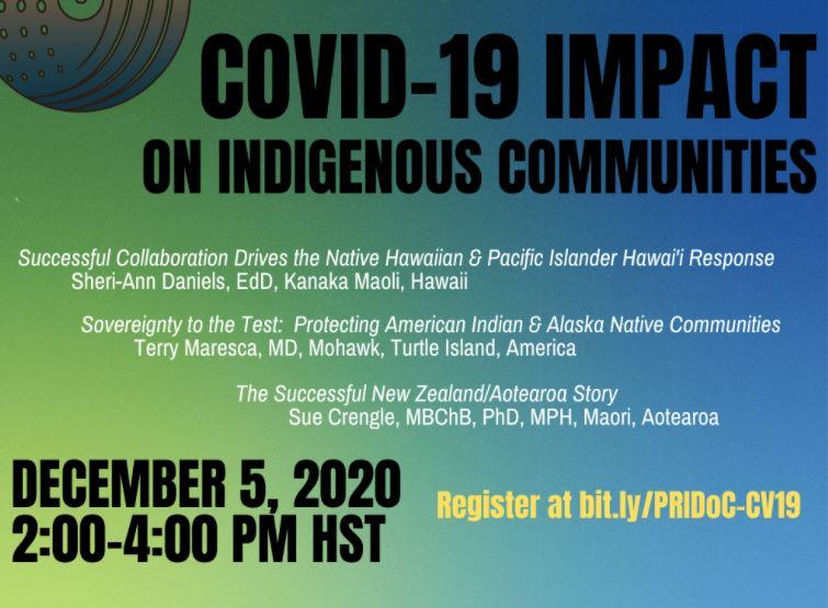 PRIDoC: The Impact of COVID-19 on Indigenous Communities